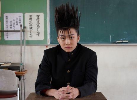 【伊藤健太郎】早朝から作るツンツン頭は地毛!「今日から俺は!!」