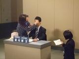 NHKのスタジオにて
