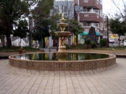 千里山第一噴水