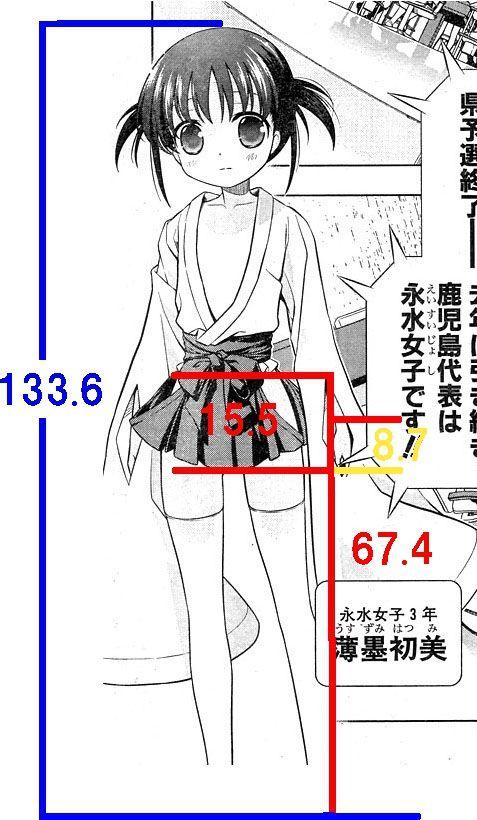 はっちゃんの足と袴