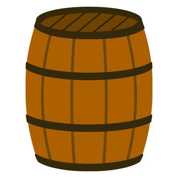 樽のイラスト