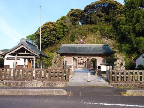 社寺!●多久神社 鹿島 門から全体R020508