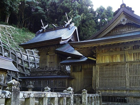 社寺!●多太神社 本殿 心が清く 須佐能5男 R020517