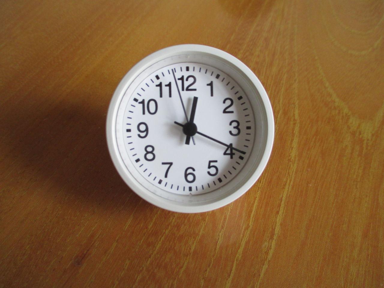 無印良品 鳩時計・グレー