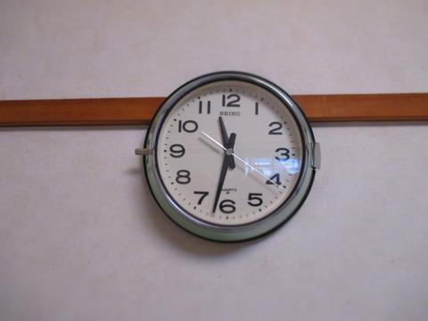 セイコー船舶用掛け時計