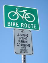 bike rute橋