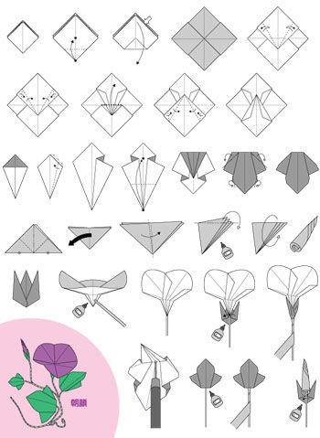 ハート 折り紙 折り紙 ゆり 作り方 : divulgando.net