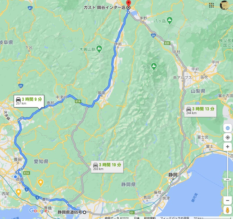 20201019浜松SAと静岡SAと諏訪湖SA01