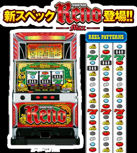 リノ max スーパー スーパーリノMAX 打ち方・天井・設定判別
