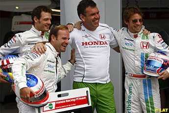 Barrichello Wurz Alistair Gibson Jenson Button