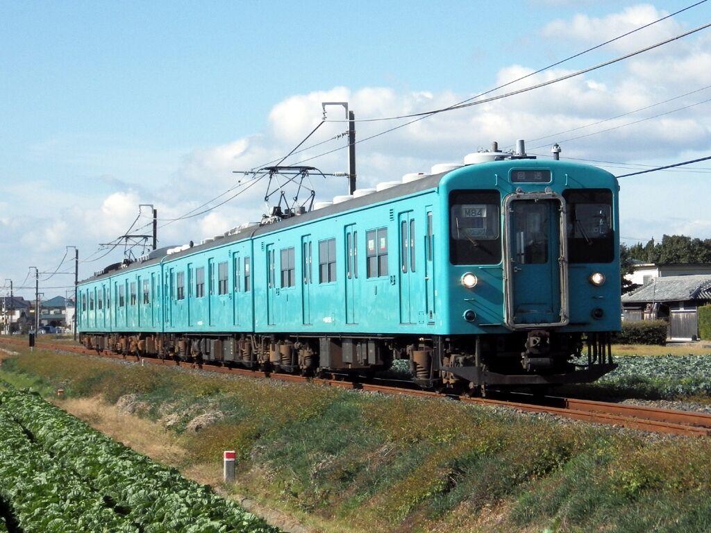 2019年12月14日国鉄105系電車 : てつどうしゃしん