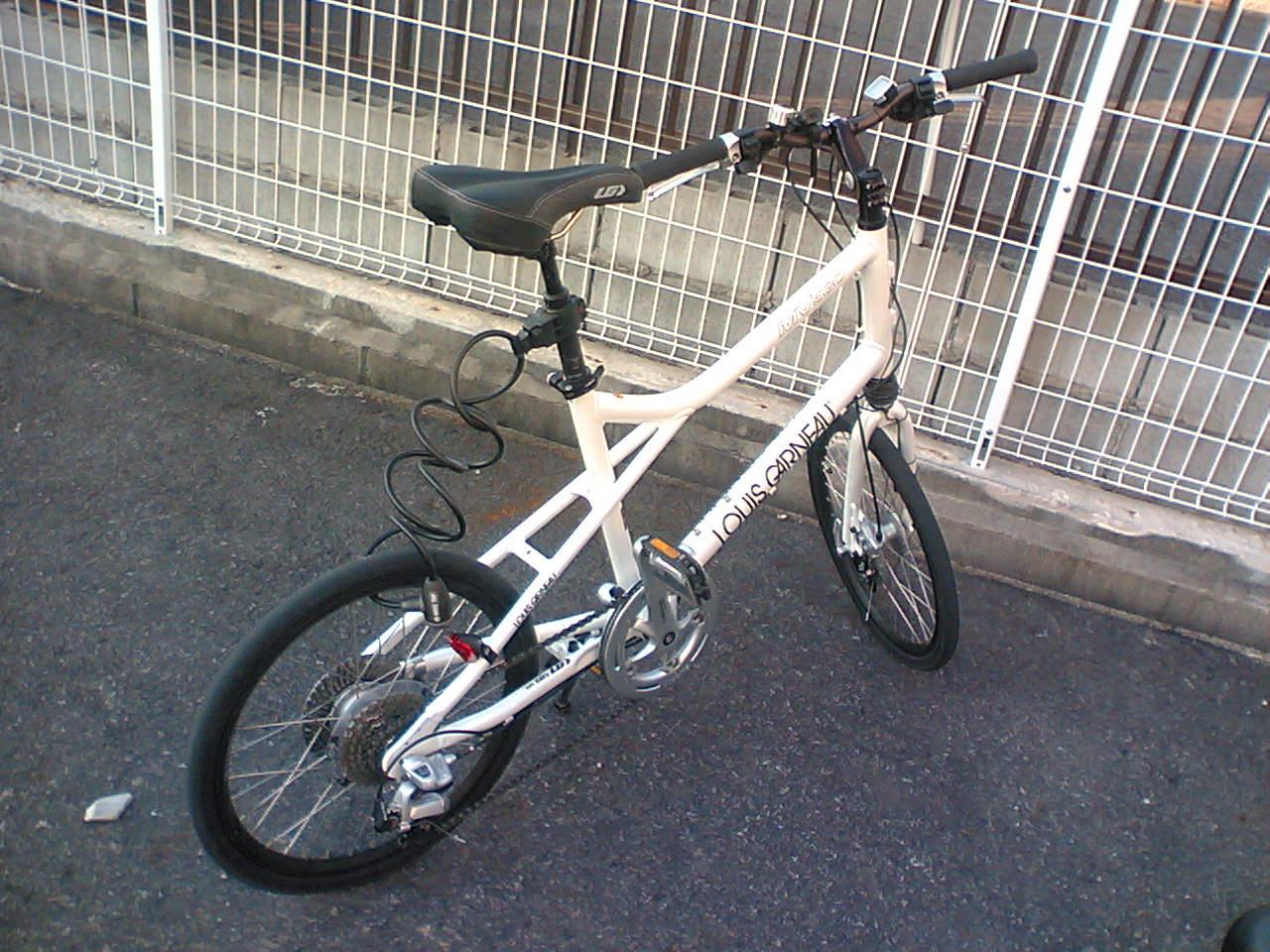 ... の自転車、今年で製造販売終了