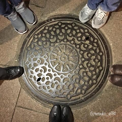 上野恩賜公園のマンホール蓋色々