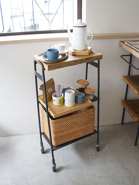 アイアンワゴン FACT 古材家具
