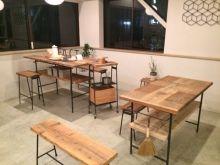 FACT 古材とアイアンのテーブル