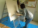 壁塗り予行演習(2)