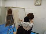 壁塗り(2)