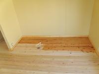 床オイル拭き