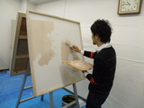 壁塗り(3)