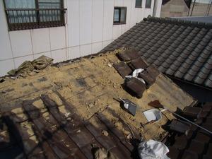 佐野、屋根撤去