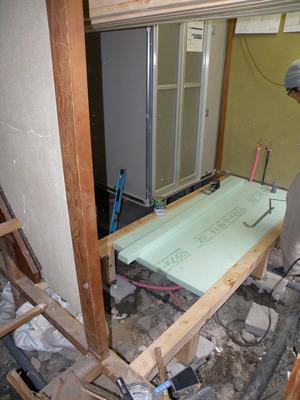 木工事、床(1)