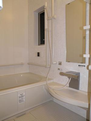 完成:浴室内