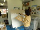 壁塗り予行演習(1)
