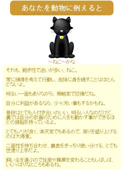無料★動物キャラ占い
