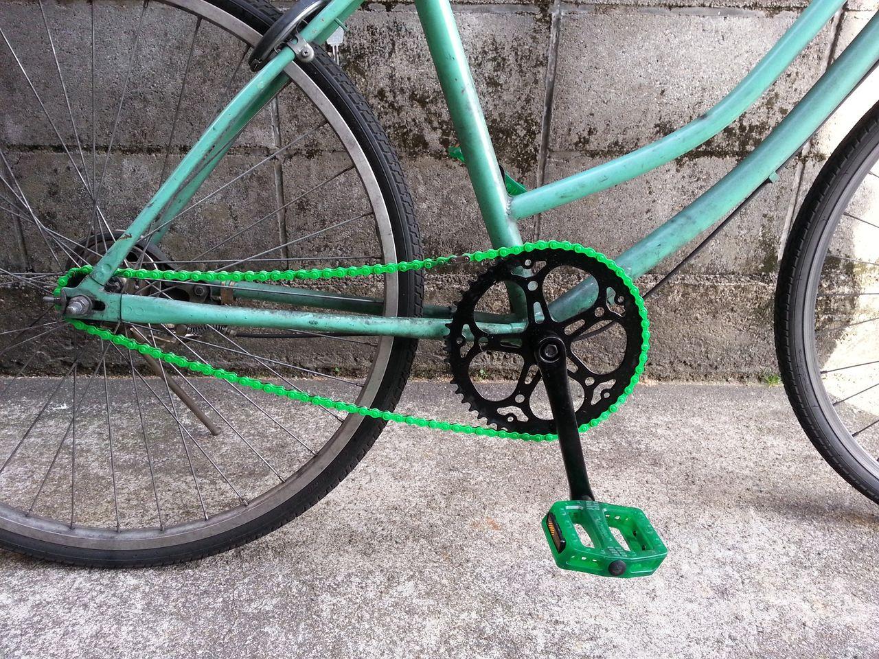 自転車の 自転車 ハンドル 交換 値段 : 52T-14のギア比だと、まともに ...