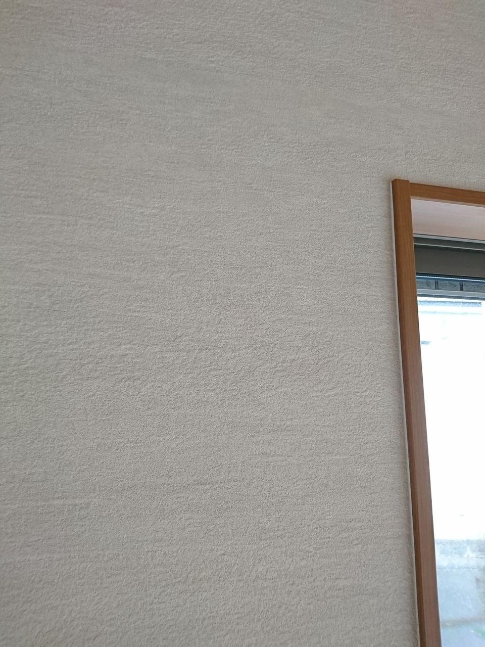 塗り壁調のクロスでおすすめは 結局は本物にはかなわない クロス カーテン インテリア職人 ブログ フライパンのたまねぎ畑