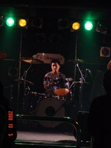 Tazawa Band on drum Kino