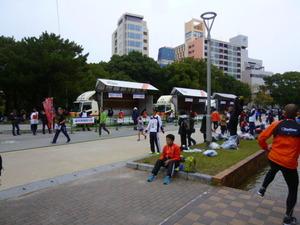 福岡マラソン準備中