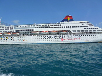 0フェリー3台湾大型船