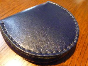 皮の財布1