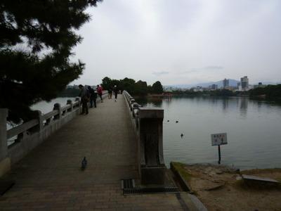 大濠公園池の橋