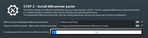 MDrummer Pack Install - Step 2