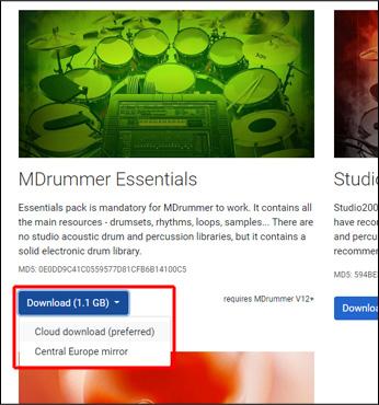 MDrummerPacks Download