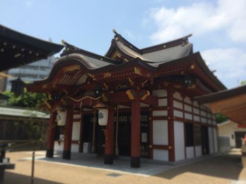 兵庫区ぶらぶら「柳原恵比寿神社」