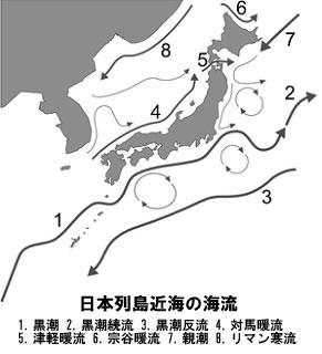 日本列島近海の海流