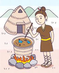 縄文時代の鍋料理