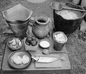 縄文時代の食卓