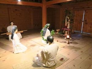 吉野ヶ里歴史公園の祈祷師の様子