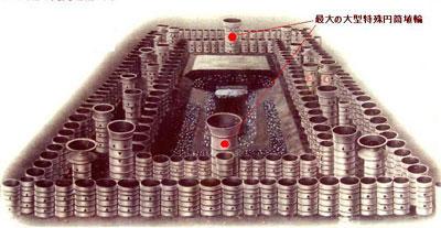 都月形円筒埴輪