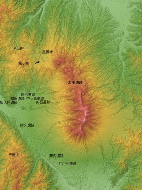 八ヶ岳山麓の遺跡
