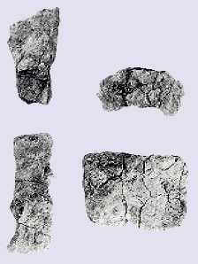 赤井手遺跡で見つかった鉄素材片