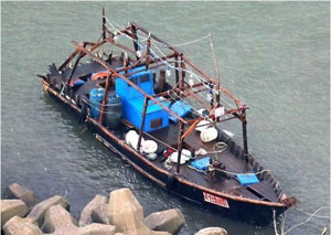 北朝鮮の漁船漂流事件