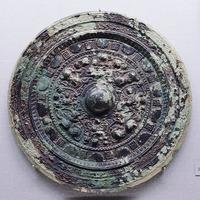 黄金塚古墳の画文帯同向式神獣鏡