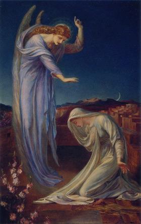 shields_annunciation ルカ福音書による受胎告知の記事を音楽であらわしたものが