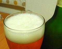 ハートランドビール 泡