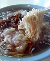 大塚支店@銚子 ワンタンメン 麺